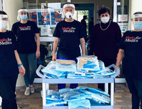 PPE Saves lives – Masks for Medics