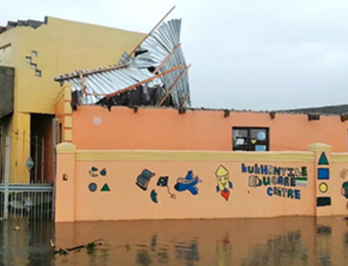 Cape storm blows off ECD roof
